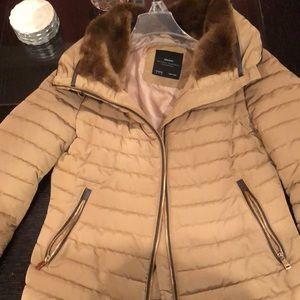 Zara tan jacket